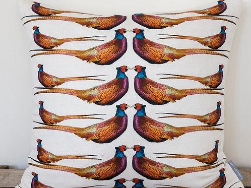 Pheasant Cushion - Last Chance to Buy