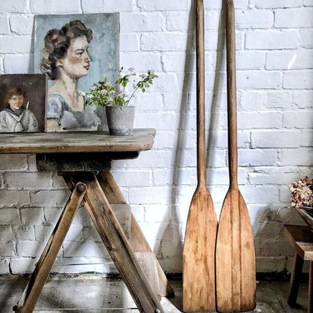 home stories - the vintage sellers at home, part 1 Karen Barlow at The Old Potato Store