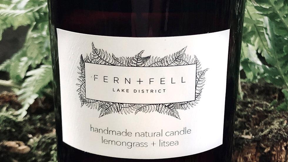 lemongrass + litsea candle