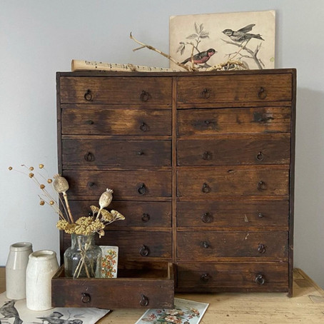 home stories - the vintage sellers at home, part 2 Paula Gleeson at Saltmill Vintage