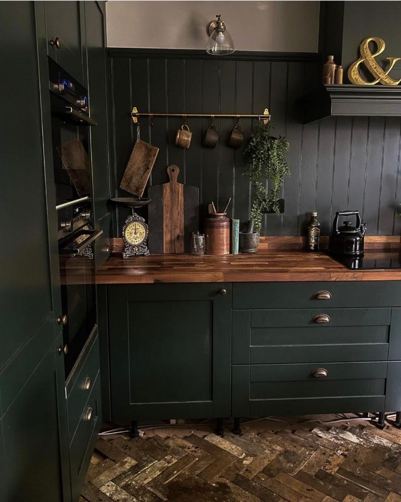 work in progress renovating a parquet floor green kitchen sustainable home renovation
