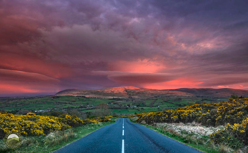 Caldbeck Sunset Northern Fells Skiddaw Lake District Cumbria Landscape photography