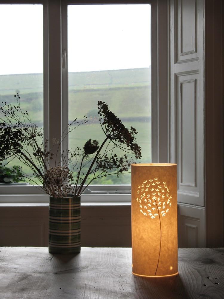 papercut table lamp allium hannah nunn