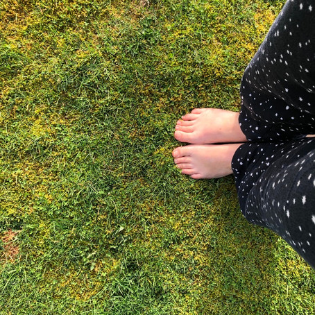 biophilia: grounding - connecting to the the Earth