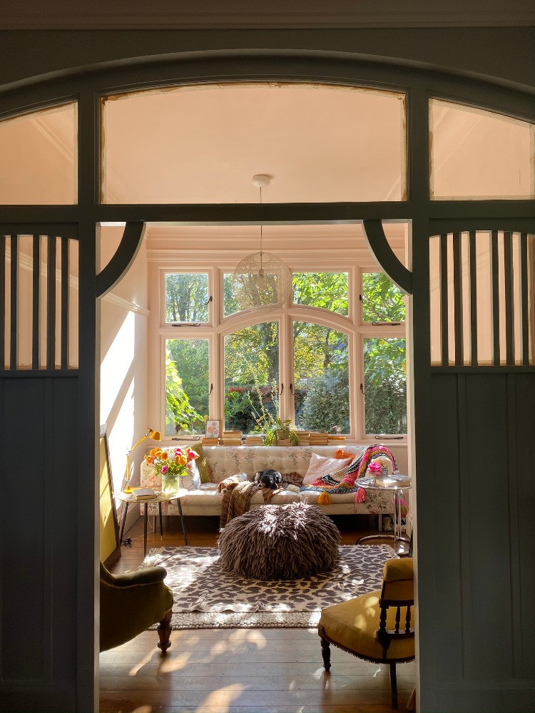 sunroom architectural details arts & crafts house