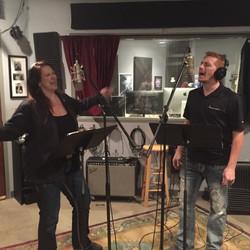 Stephanie Short and Chris Gaches