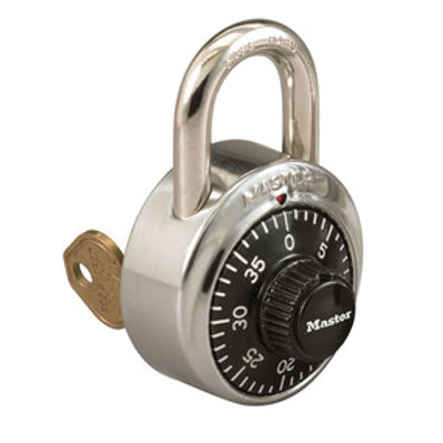 MASTERLOCK Combination Padlock - Key Controlled