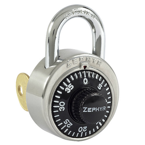 ZEPHYR Combination Padlock - Key Controlled