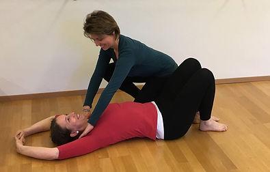 Beatrice Pinillos und Susanne Brodbeck Cantienia-Instruktorinnen