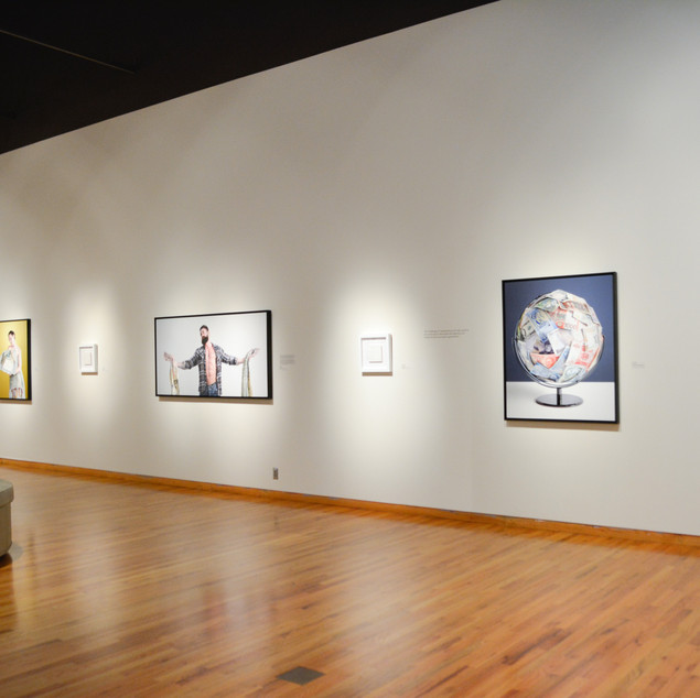 'Everything & Nothing' Exhibition at the Fort Wayne Museum of Art, Indiana.