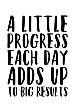 A Little Progress Each Day Adds Up To Bi