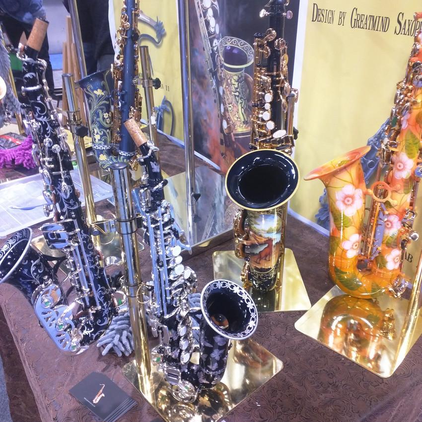Pretty Saxophones