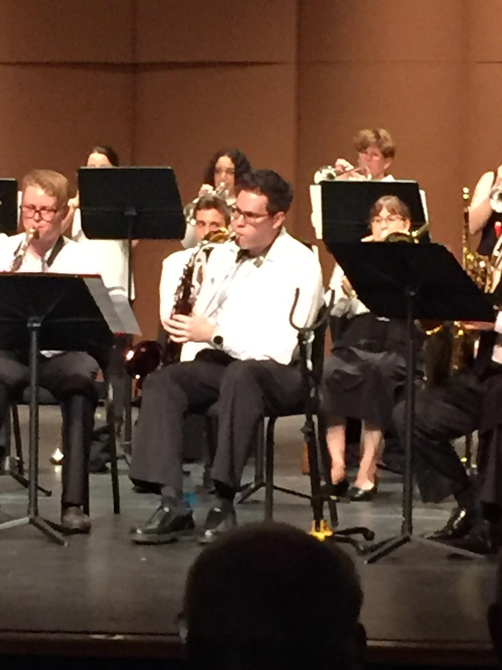 saxophone performance