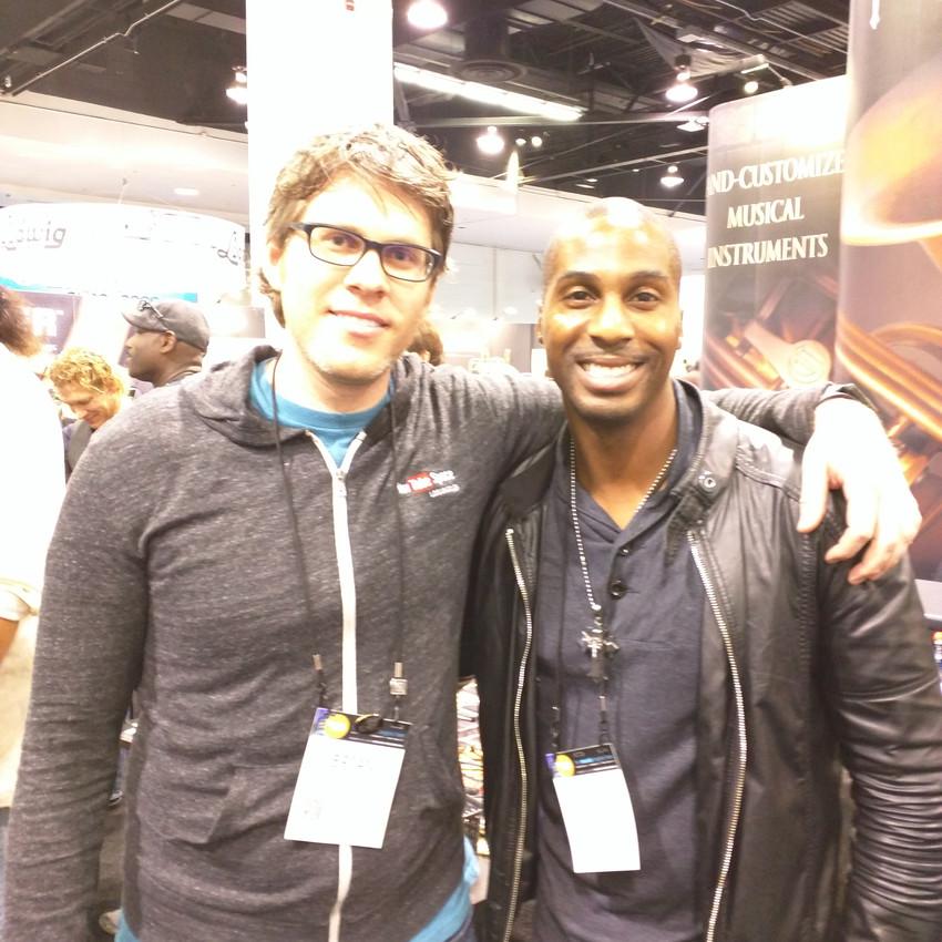 Me with Eric Darius