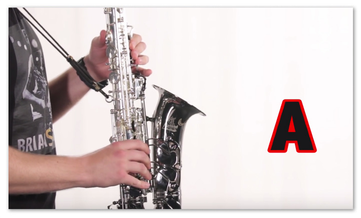 "This is an ""A"" on Your Sax"