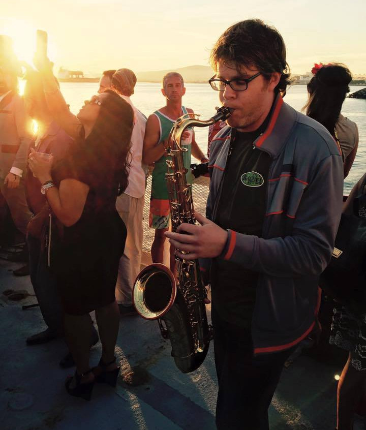 Sunset Sax