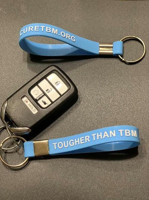 Tougher Than TBM/ CureTBM.org KeyChain