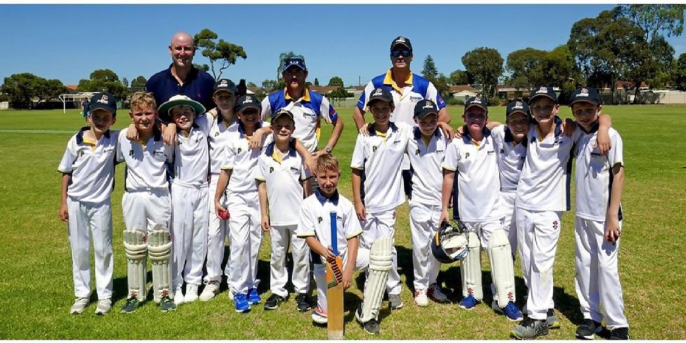 Junior Cricket - Round 1