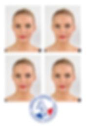 photo identité passeport carte d'identité visa