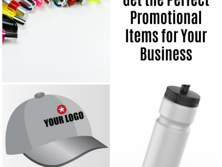 Get the Perfect Promotion Items for Your Business