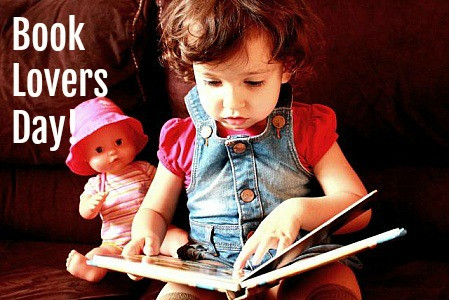 Today is Book Lovers Day! Spend the day enjoying your favorite book!