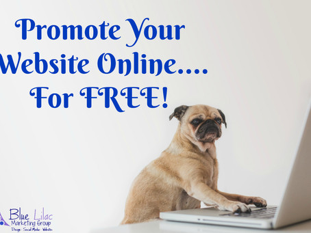 Promote Your Website Online...for Free!