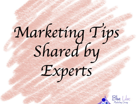 Marketing Tips Shared by Experts