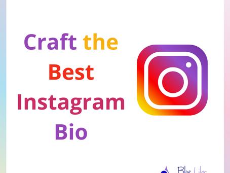 Craft the Best Instagram Bio