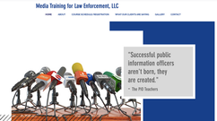Media Training for Law Enforcement website