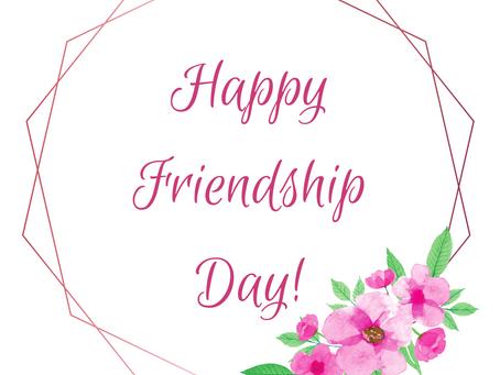 It's Friendship Day!