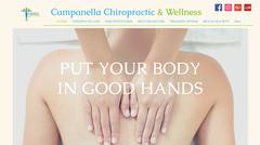 Campanella Chiropractic & Wellness website