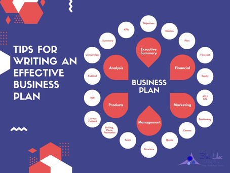 Tips for Writing an Effective Business Plan