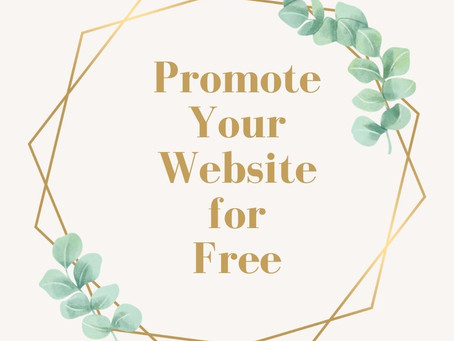 Promote Your Website for Free