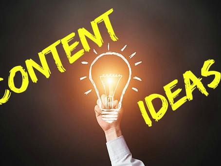 11 Fabulous Content Ideas for Your Blog