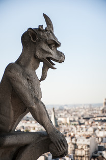 Gargoyle of note, Notre Dame