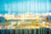 Munich museum, rainy afternoon