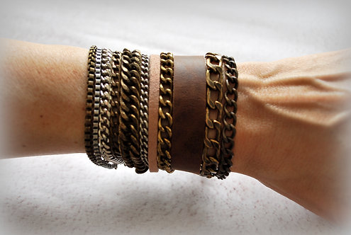 NIMMA | Wrap Bracelet | Shades of Brown