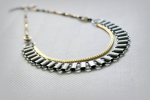 LUCY | Gold & Silver Layered Necklace