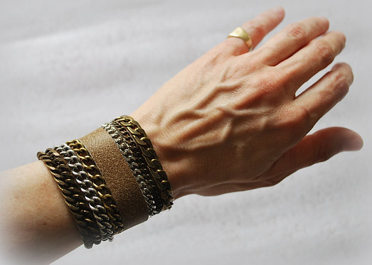 NIMMA (thin) | Wrap Bracelet | Shades of Brown
