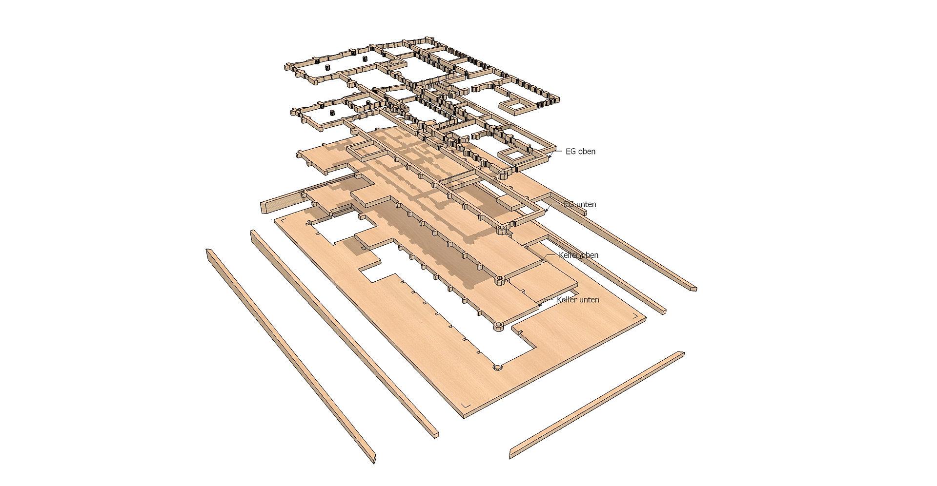 innenarchitektur, innenarchitekt | architekturmodell hospital lÜbeck, Innenarchitektur ideen