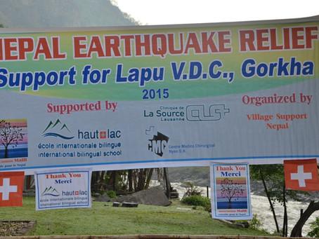 Aide alimentaire d'urgence à Lapu: les nouvelles