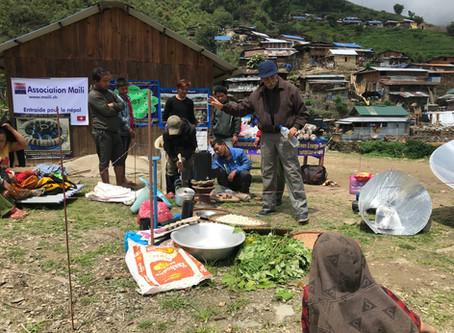 Camp de sensibilisation sur les énergies vertes à Lapu