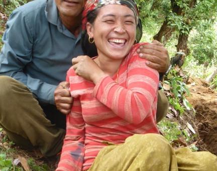 Adduction d'eau à Lapu: 3ème jour