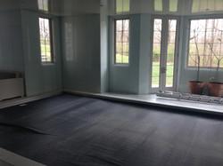 Work in progress in Spa room