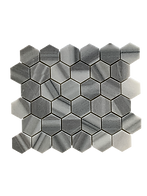 POLISHED HEXAGON EQUATOR MOSAIC