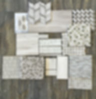 Timber white Tiles and Mosaics