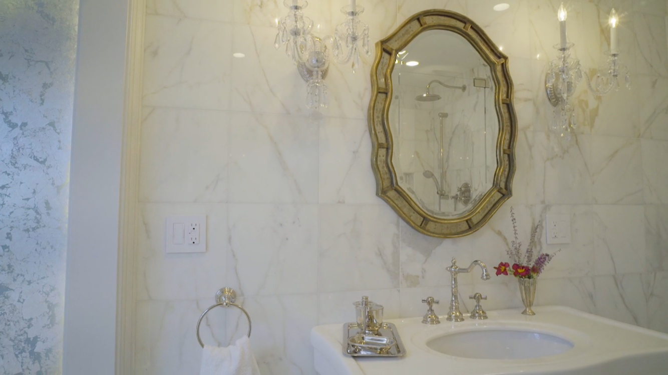 Calacatta Bathroom- Alternate View
