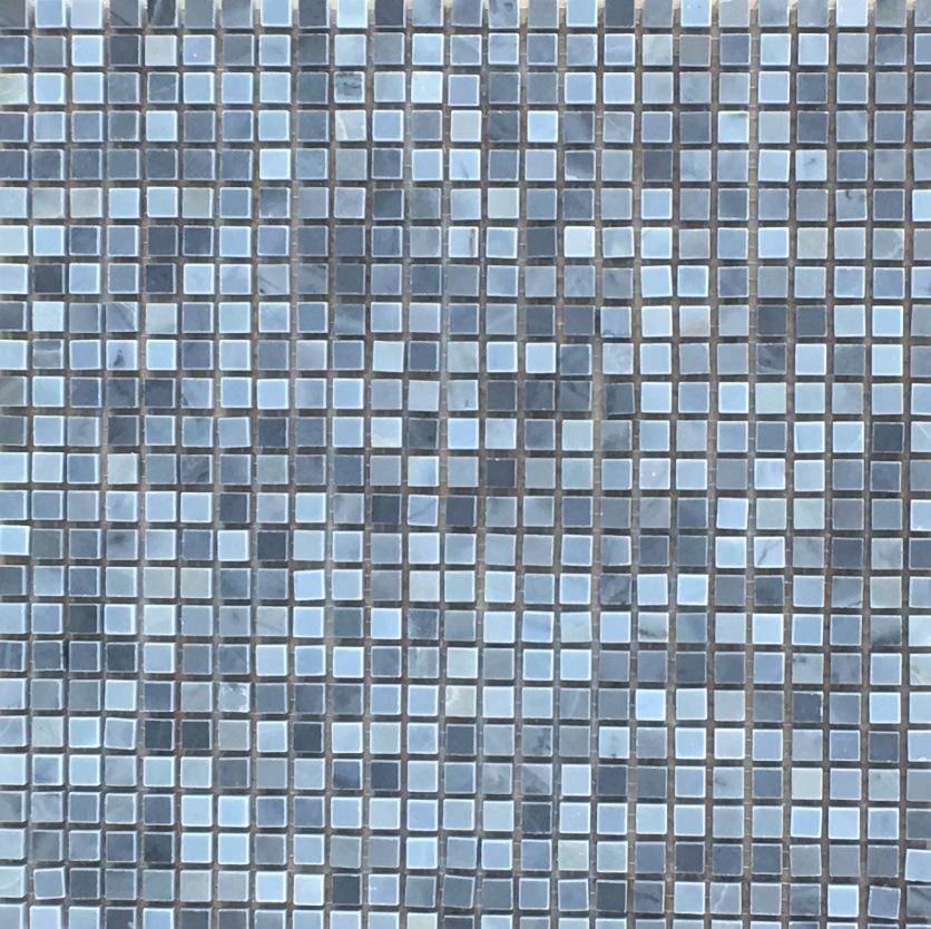 BLUE GREY ONYX MOSAIC