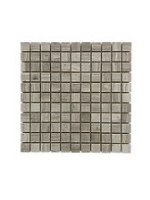 SQUARE TIMBER WHITE MOSAIC
