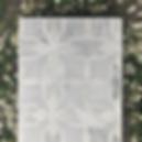 Thassos, Carrara, and Mother of Pearl - Dahlia Mosaic